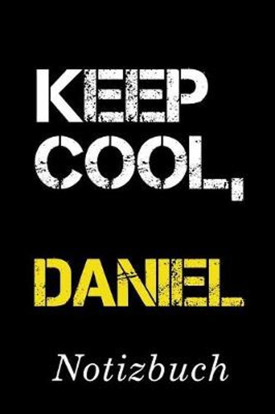 Keep Cool Daniel Notizbuch