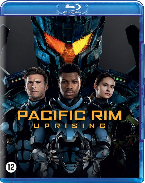 DVD cover van Pacific Rim 2: Uprising (Blu-ray)