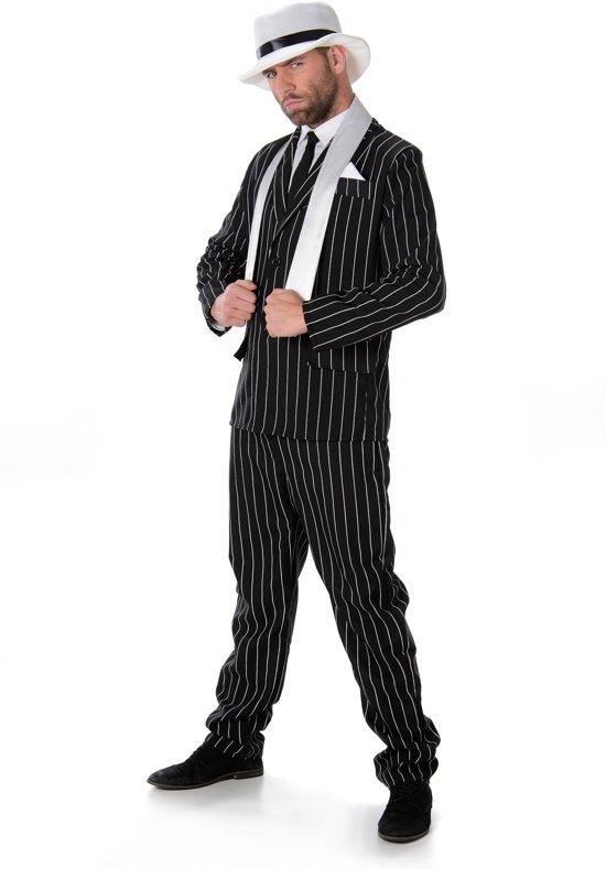 Al Capone Maffia Kostuum Heren - Maat L