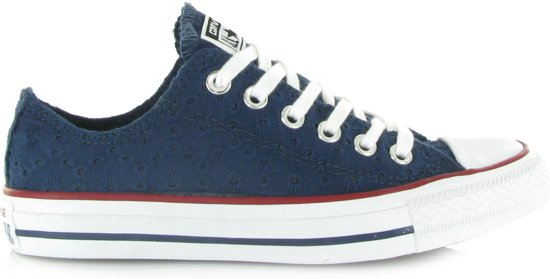 99f39df1f27 Converse Chuck Taylor All Star Ox Sneakers - Maat 39.5 - Unisex - blauw
