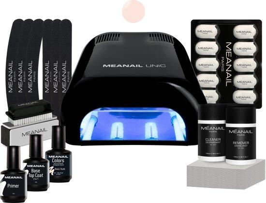 MEANAIL® Essential kit - UV lamp 36w - Zwart - Gel nagellak