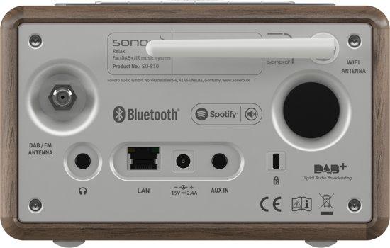 Sonoro RELAX - WiFi - Spotify - DAB + radio