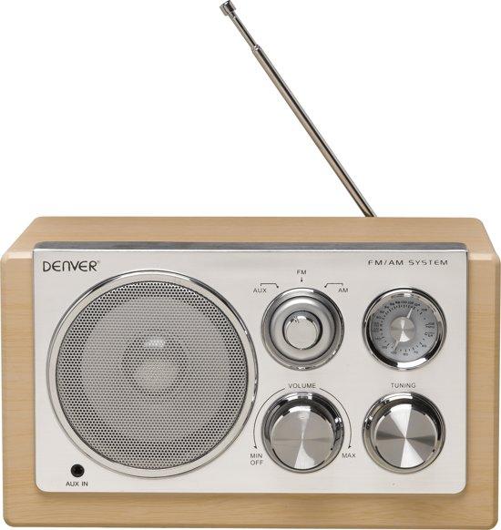 Pæn bol.com | Denver TR-61 - Retro FM radio - Hout XM63