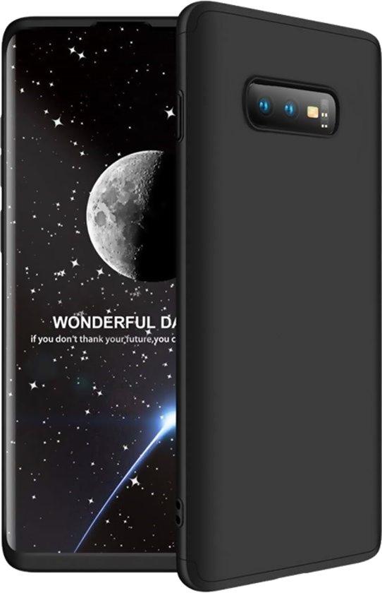 Samsung Galaxy S10E 360 Full Protection Hard Cover Case Black