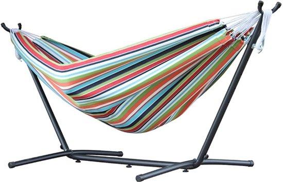 Sunbrella Hangmat met Standaard 280 cm - Confetti