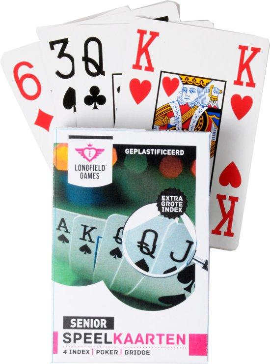Longfield Games Speelkaarten Senior