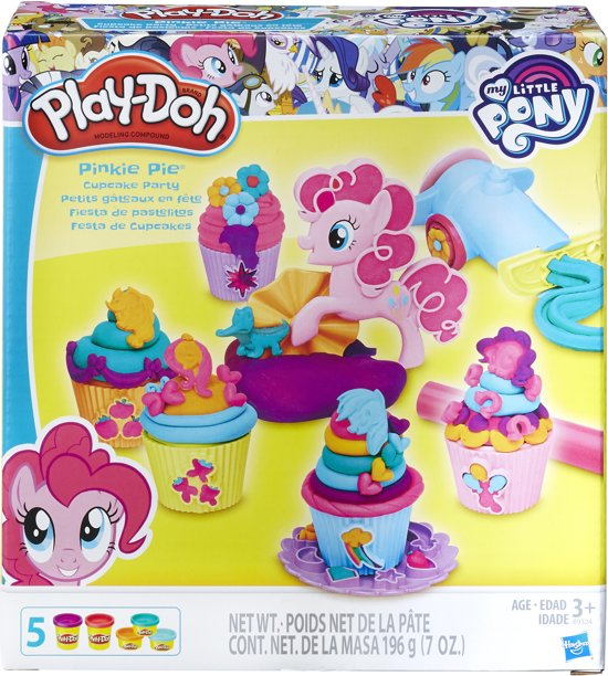 Play-Doh Pinkie Pie Cupcake Party - Klei