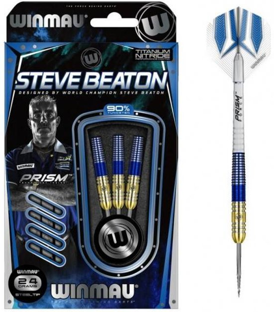 Steve Beaton Gold Blue 90%