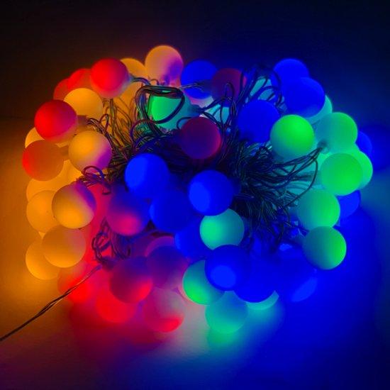 Bol Com Gekleurde Feestverlichting Multi Color 80 Led S 12