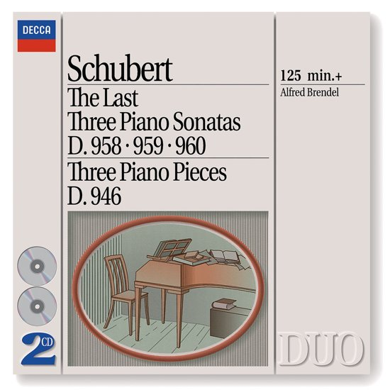 Last Three Piano Sonatas/3 Piano Pieces