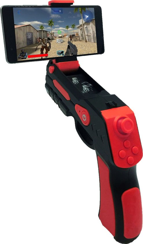 Funtastix AR-gun and free games - voor iOS and Android phones