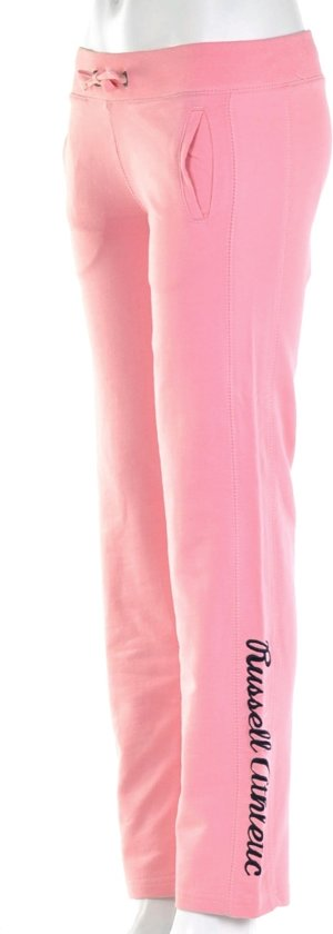 Russell Athletic Open Leg Pant - Trainingsbroek - Kinderen - Maat 176 - Licht Roze