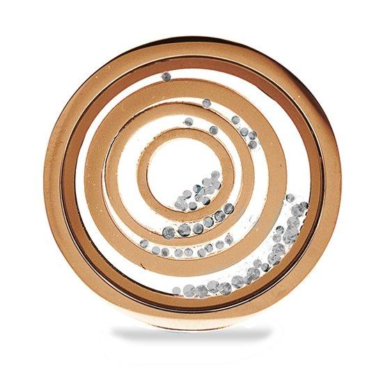 LOCKits 982501560 - Stalen Munt - 25 mm - Rosekleurig