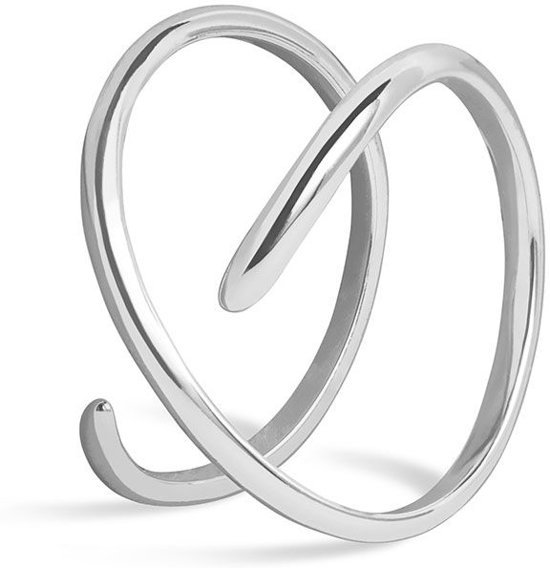 FAEMD Curves Ring - Zilver 7