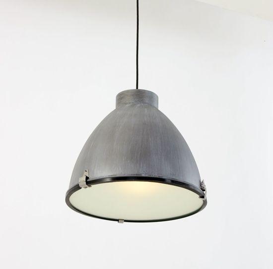 Lumidem Mando Hanglamp Fabriek - Grijs -  ø41 cm - Industriële Hanglamp -