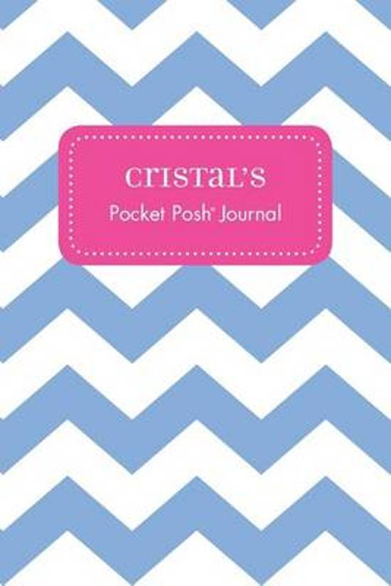 Cristal's Pocket Posh Journal, Chevron