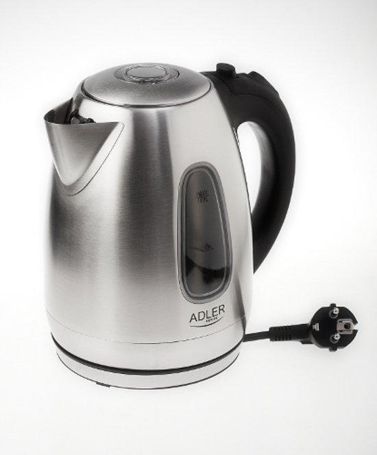 Adler AD 1223 - Waterkoker - led - RVS - 2200 watt - 1.7 L