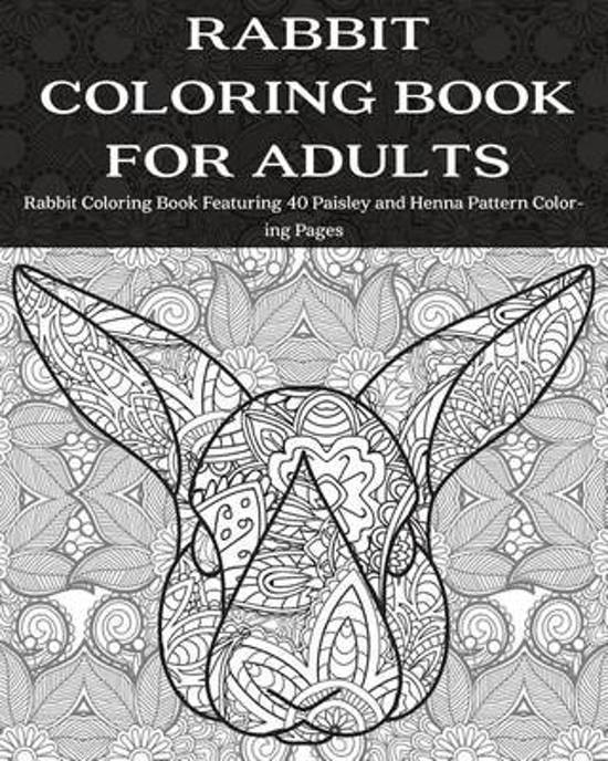 bol.com | Rabbit Coloring Book for Adults, Coloring Books Now ...