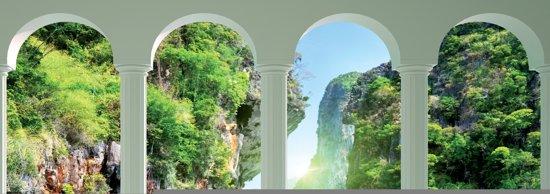 Fotobehang Natuur, Water | Groen | 312x219cm