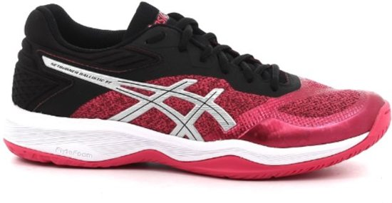 ASICS Gel Netburner Ballistic FF roze zwart volleybalschoenen dames