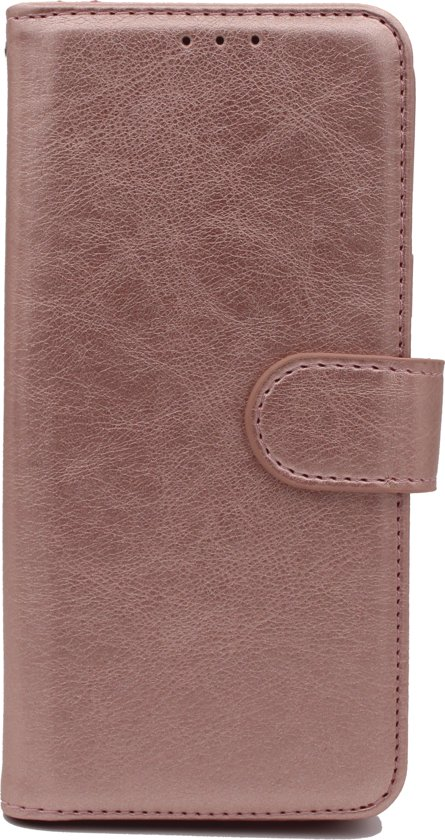 Samsung Galaxy S10 Hoesje - Hoge Kwaliteit Portemonnee Book Case - Rose Gold