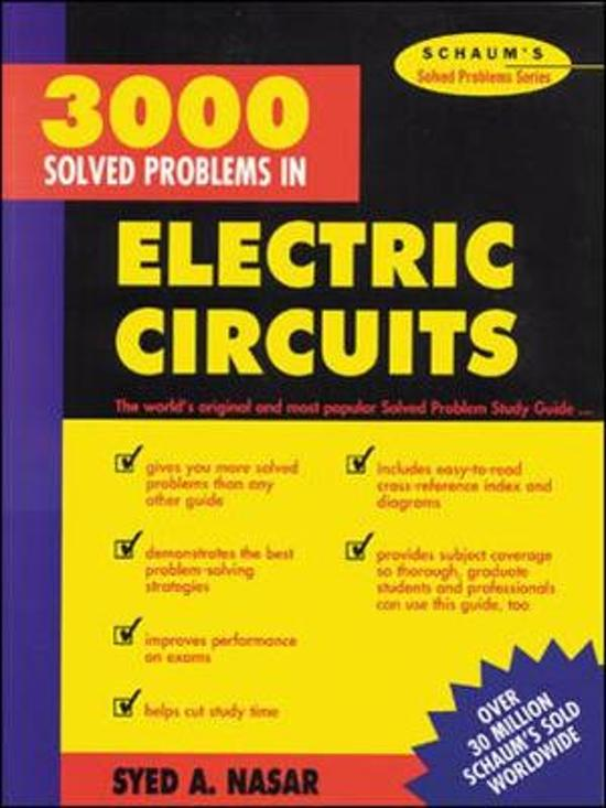 3000 Solved Problems in Electrical Circuits