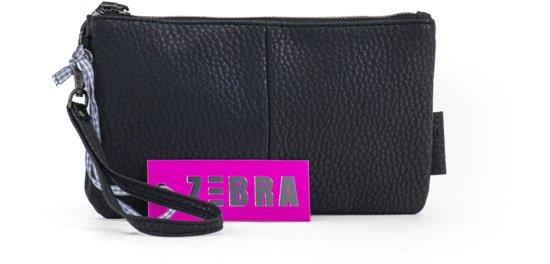faea2a80800 bol.com | Zebra Trends Natural Bag Clutch Yasmine - Zwart