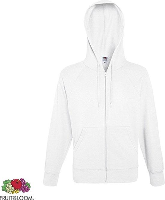3ec9a641331 bol.com   Fruit of the Loom hoodie vest met rits lichtgewicht Maat M ...