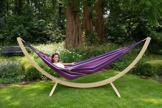 Hangmat met Standaard Tweepersoons 'Wood & Chill' Love