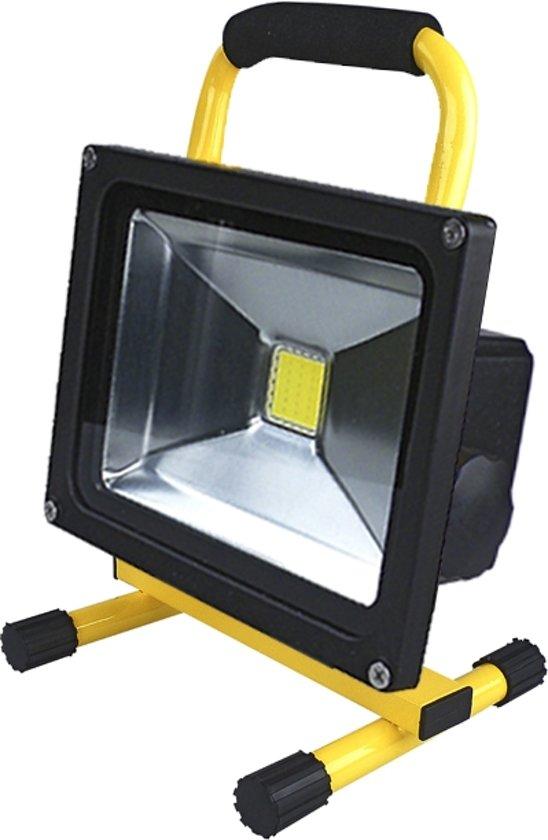 Accu Led bouwlamp 50 Watt Daglicht
