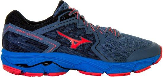 6748480173 Mizuno Wave Ultima 10 hardloopschoenen dames Sportschoenen - Maat 38.5 -  Vrouwen - grijs blauw