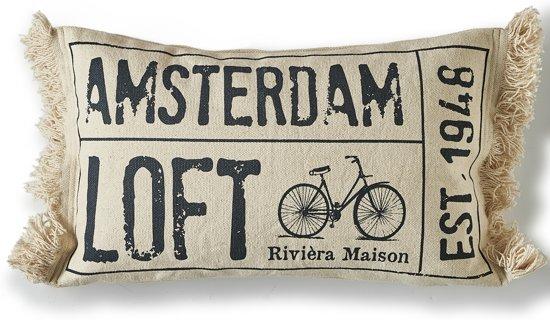Kussens Van Riviera Maison.Bol Com Riviera Maison Amsterdam Loft Pillow Cover 50x30
