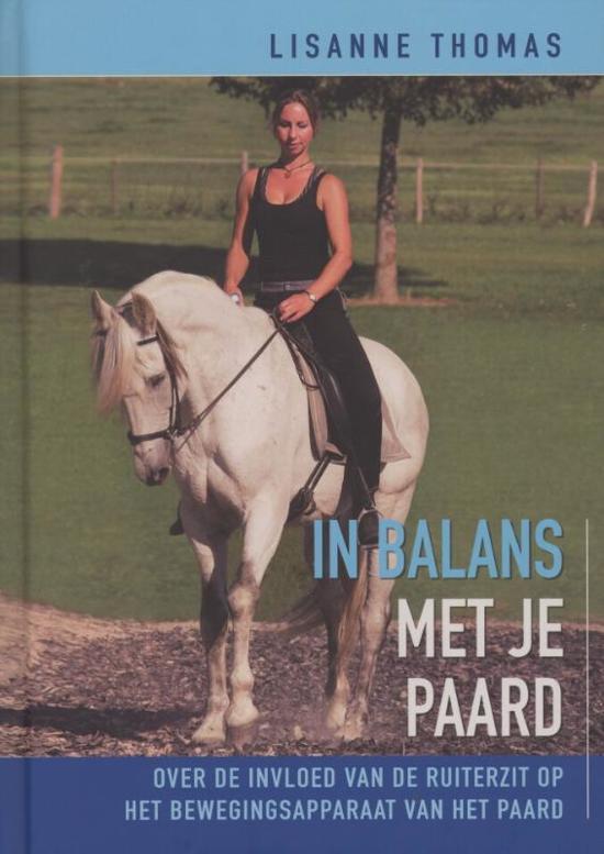 Boek cover In balans met je paard van Lisanne Thomas (Hardcover)