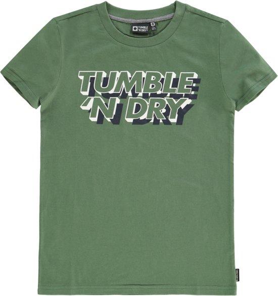 a9b9013b042 bol.com | Tumble 'n dry Jongens T-shirt Fandor - Moss Green - Maat 122