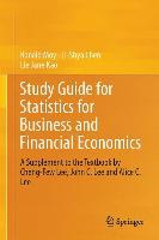 study giude for business statistics