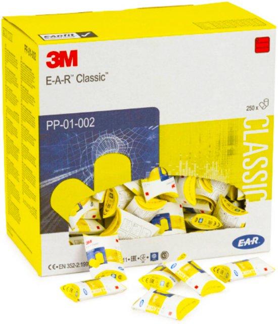 Oordopjes geel 3M E-A-R Classic (250 paar)