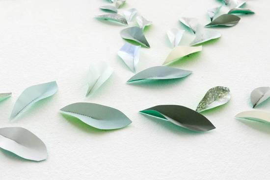 Behang Kleur Eucalyptus : Bol pepe heykoop papieren behang blaadjes groen