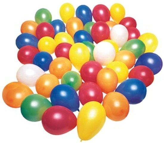 Gekleurde waterballonnen 100 stuks