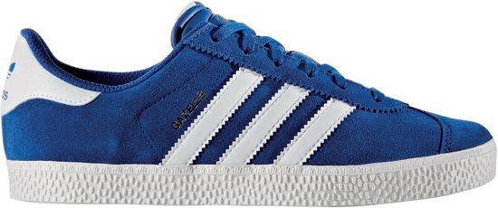 adidas gazelle blauw wit