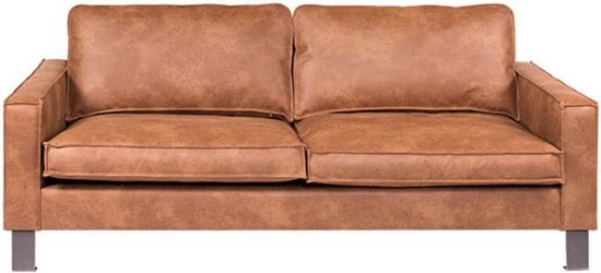 Bankstel Cognac Leer Aanbieding.Bol Com 3 Zits Bank Country Leer Colorado Cognac 03 2 06 Mtr Breed