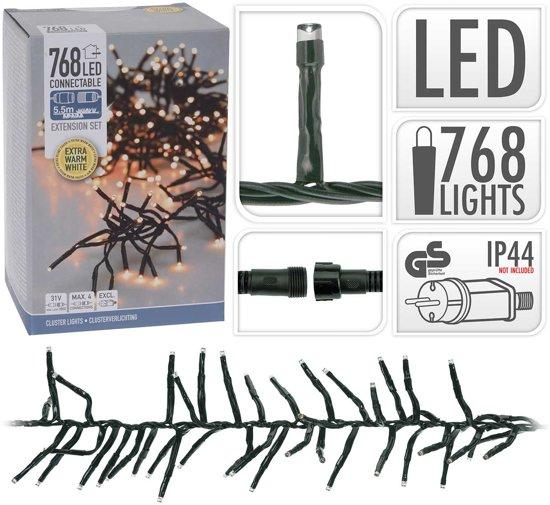 Bol Com Koppelbare Led Clusterverlichting 5 5m 768 Lampjes