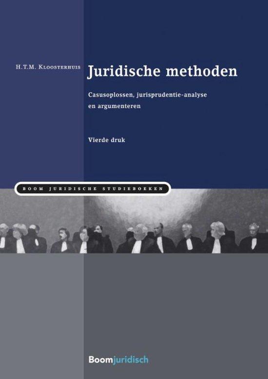 Boom Juridische studieboeken Juridische methoden