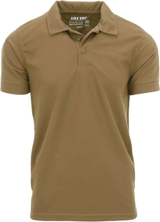101inc Tactical Polo QuickDry Coyote