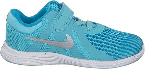 Nike Révolution 4 (tdv) Chaussures De Sport - Taille 21 - Mixte - Bleu Clair / Blanc 7suwJE