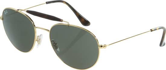 625dfe1c910 Ray-Ban RB3540 001 - zonnebril - Goud   Groen Klassiek G-15 -