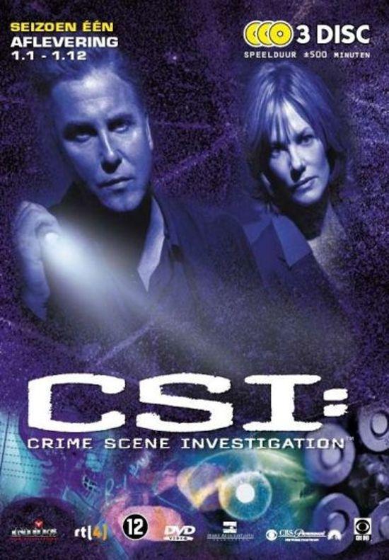 CSI: Crime Scene Investigation - Seizoen 1 (Deel 1)