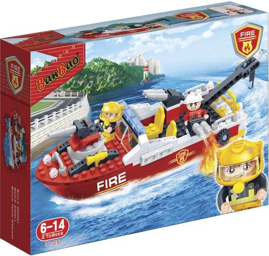 BanBao Brandweer Brandweerboot - 7105