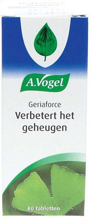 A.Vogel Geriaforce - 80 Tabletten - Voedingssupplement