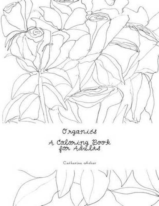 bol.com | Organics, a Coloring Book for Adults, Ms Catherine Meier ...