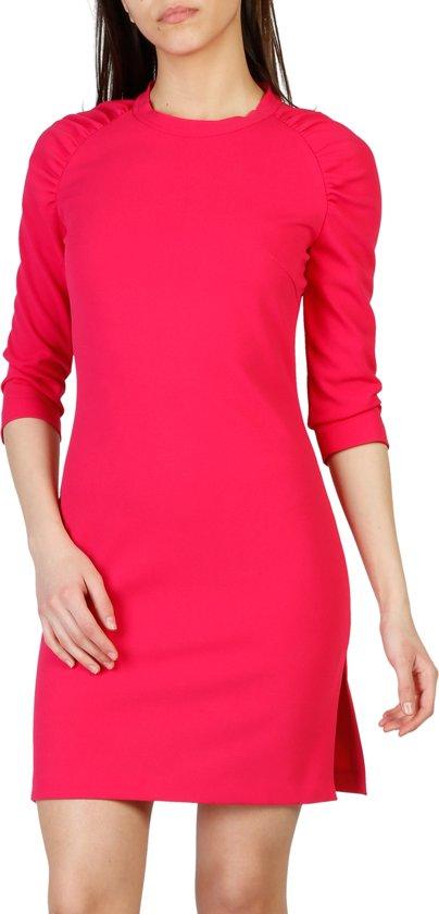 fuchsia jurk